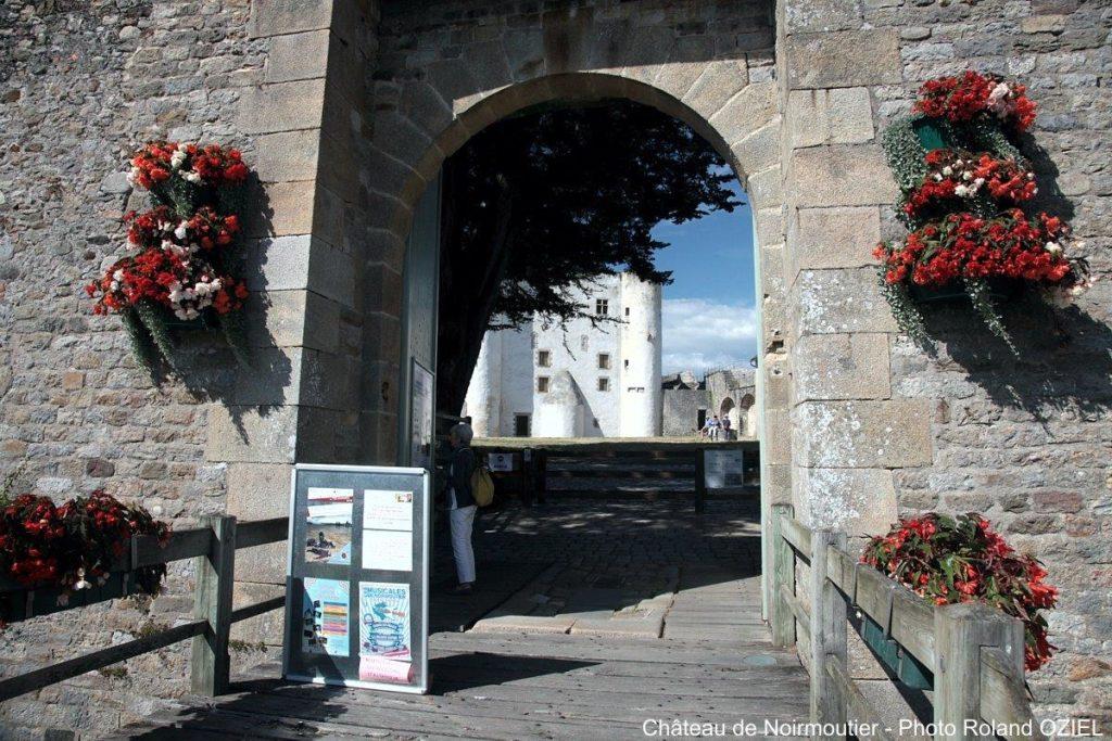 entrée du château de Noirmoutier