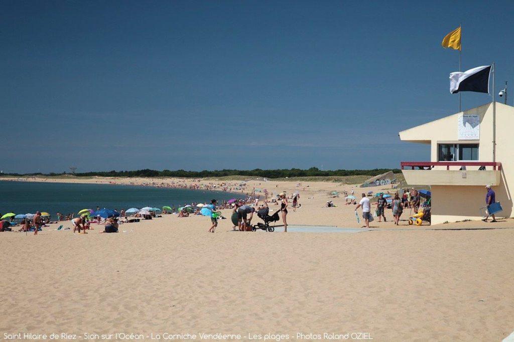 Grande plage St hilaire de Riez