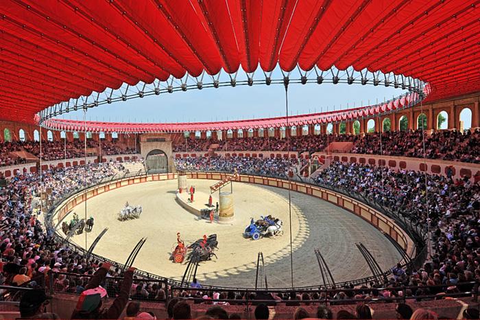 Stadium gallo-romains Puy du Fou